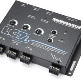 AudioContol 6 Channel Line Output Converter With Accubass lc7i