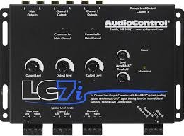AudioContol 6 Channel Line Output Converter With Accubass lc7i