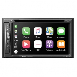 Flagship In-Dash Navigation AV Receiver with 6.2˝ WVGA Clear Resistive Touchscreen Display AVIC-W6500NEX