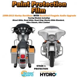 Paint Armor 1998-2013 Harley Davidson Stage 1 with Rockford Fosgate audio upgrade