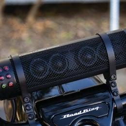 6-Speaker Bluetooth motorcycle handlebar speaker system MUDHSB-B