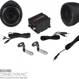 Renegade Motorcycle and Scooter Sound System 100 Watts Max RXA100B