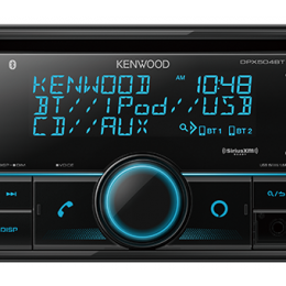 2-Din CD Receiver with Bluetooth DPX504BT