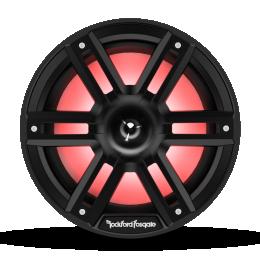 """Rockford Fosgate M2 Series 8"""" Color-Optix™ marine speakers with horn tweeter (Black) M2-8HB"""