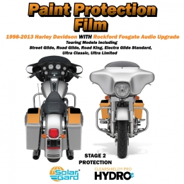 Paint Armor 1998-2013 Harley Davidson Stage 2 with Rockford Fosgate audio upgrade