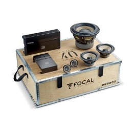 Focal 40th Anniversary Car Audio Kit