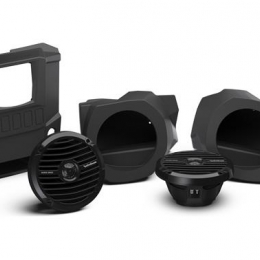 Stereo and front lower speaker kit for select RANGER® models RNGR-STAGE2