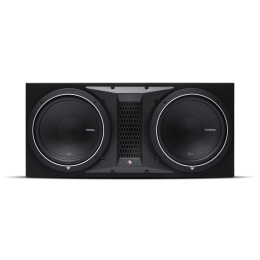 """Rockford Fosgate Punch Ported enclosure with two 12"""" Punch P1 subwoofers P1-2X12"""