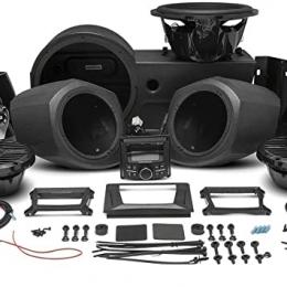 Rockford Fosgate 400 watt stereo, front lower speaker, rear speaker, and subwoofer kit for select Polaris GENERAL™ models GNRL-STAGE4