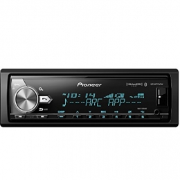 CD Receiver with enhanced Audio Functions, Pioneer Smart Sync App Compatibility, MIXTRAX®, Built-in Bluetooth®, HD Radio™ Tuner and SiriusXM-Ready™ DEH-S7200BHS
