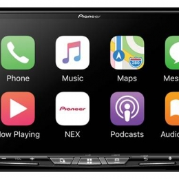 Flagship In-Dash Navigation AV Receiver with 7˝ WVGA Capacitive Touchscreen Display AVIC-W8500NEX