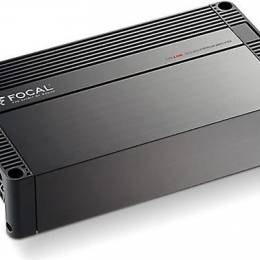 Focal FPX 4.800 Performance Series 4-channel car amplifier — 120 watts RMS x 4 FPX 4.800