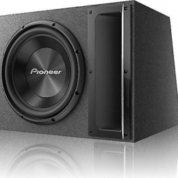 "Pioneer Ported enclosure with one A-Series 12"" 2-ohm subwoofer TS-A120B"