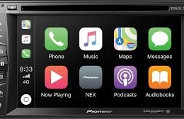 """Multimedia DVD Receiver with 6.2"""" WVGA Display, Apple CarPlay™, Built-in Bluetooth®, SiriusXM-Ready™, iDataLink® Maestro™, and Remote Control Included AVH-1550NEX"""