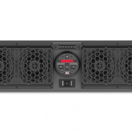 """MTX MUDSYS31 All-weather Bluetooth amplified sound system with four 6-1/2"""" speakers"""