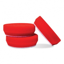 "Griot's 3"" RED FOAM WAXING PADS, SET OF 3 ITEM# 11263"