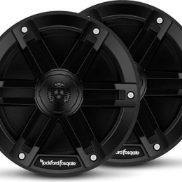 "Rockford Fosgate M0 Series 6-1/2"" 2-way marine speakers (Black) M0-65B"
