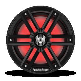 "Rockford Fosgate M2 Series 8"" Color-Optix™ marine speakers (Black) M2-8B"