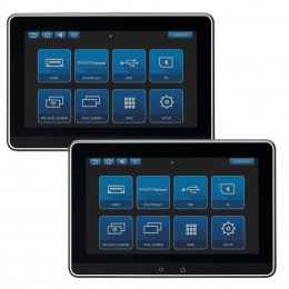"""Audiovox Dual 10.1"""" Touchscreen Smart TV Digital Only Monitor Systems (No DVD)  AVXSB10MM"""