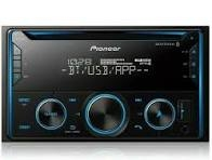 Double DIN CD Receiver with Improved Pioneer Smart Sync App Compatibility, MIXTRAX®, Built-in Bluetooth® FH-S520BT