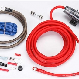 Rockford Fosgate 8-gauge amplifier power wiring kit  RFK8