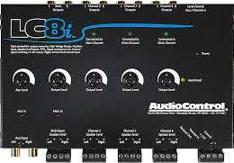 AudioControl 8 Channel Line Out Converter With Auxiliary Input lc8i