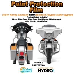 Paint Armor 2014+ Harley Davidson Stage 1 with Rockford Fosgate audio upgrade