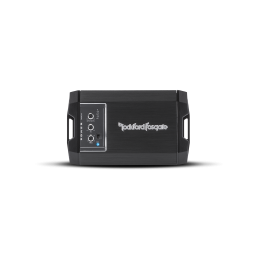 Rockford Fosgate Power Compact 2-channel car amplifier — 200 watts RMS x 2 T400X2ad