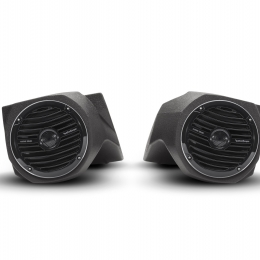 "Rockford Fosgate Lower front 6-1/2"" speaker enclosures for select Polaris Ranger models (pair) RFRNGR-FSE"