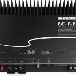 High-Power Mono Subwoofer Amplifier with Accubass® lc-1.1500