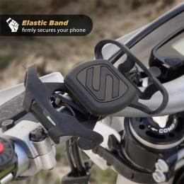 Magnetic Handlebar Mount w/Elastic Bands MBM2SM