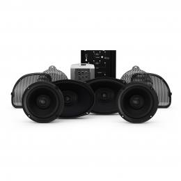 Rockford Fosgate 2014+ Harley-Davidson® Road Glide® CVO & Street Glide® CVO 4 Speaker & Amp Kit HD14CVO-STAGE2