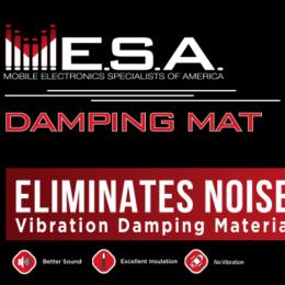 MESA Damping Mat Bulk Kit MDM36