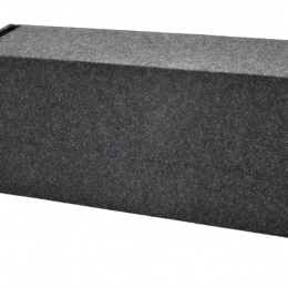 """Bbox Dual 12"""" Vented Carpeted Subwoofer Enclosure - Fits - Universal  A122-12CPV"""