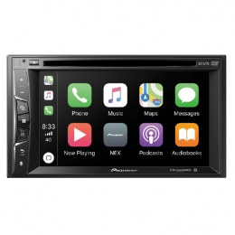 "Multimedia DVD Receiver with 6.2"" WVGA Display, Apple CarPlay™, Built-in Bluetooth®, SiriusXM-Ready™, iDataLink® Maestro™, and Remote Control Included AVH-1550NEX"