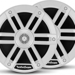 "Rockford Fosgate M0 Series 6-1/2"" 2-way marine speakers (White) M0-65"