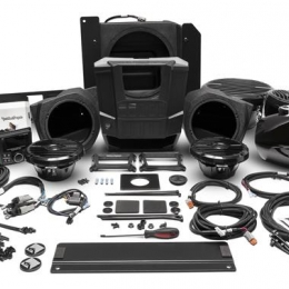 Rockford Fosgate 400 watt stereo, front lower speaker, rear speaker, and subwoofer kit for select Polaris RANGER® models RNGR-STAGE4