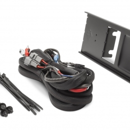 Rockford Fosgate Dual amp kit and mounting plate for select Polaris Ranger models RFRNGR-K8