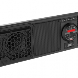 """MTX MUDSYS46 All-weather Bluetooth amplified sound system with four 6-1/2"""" speakers"""