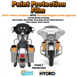 Paint Armor 2014+ Harley Davidson Stage 2 with Rockford Fosgate audio upgrade