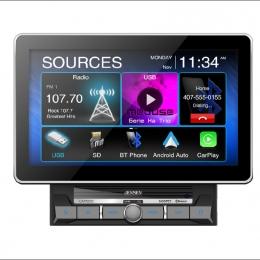 "Jensen Digital multimedia receiver with 10.1"" touchscreen CAR1000"