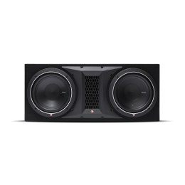 """Rockford Fosgate Punch Ported enclosure with two 10"""" Punch P1 subwoofers  P1-2X10"""