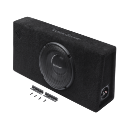 """Rockford Fosgate Power Series 1-ohm truck-style 10"""" T1 sealed enclosure T1S-1x10"""
