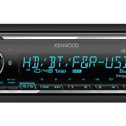 Digital Media Receiver with Bluetooth & HD Radio KMM-BT728HD