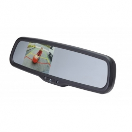 EchoMaster 3.5 inch Factory Mount Mirror Monitor with AUTO DIMMING and Adjustable Parking Lines PMM-35-AdPL