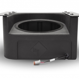"Rockford Fosgate Front 10"" subwoofer enclosure for select Polaris Ranger models RFRNGR-FWE"