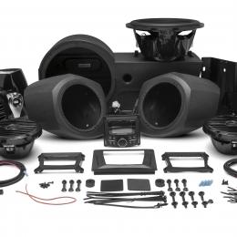 400 watt stereo, front lower speaker, rear speaker, and subwoofer kit for select Polaris GENERAL™ models GNRL-STAGE4