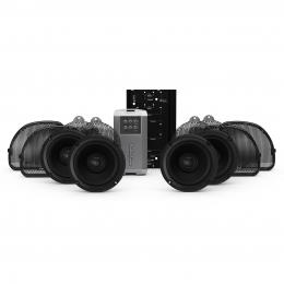 Rockford Fosgate 2014+ Harley-Davidson® Road Glide® Ultra & Street Glide® Ultra 4 Speaker & Amp Kit HD14U-STAGE2