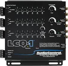 AudioControl 6 Channel Line Out Converter With EQ and Accubass lcq-1