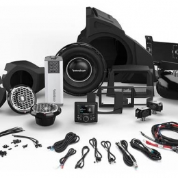 Rockford Fosgate 1,000 Watt Stereo, Front and Rear Speaker, and Subwoofer Kit for Select Polaris® RZR® Models RZR14-STAGE5